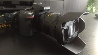 cámara de fotos nueva (pocos disparos)