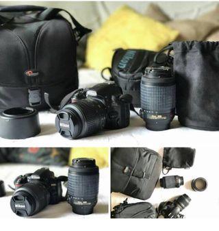 Cámara reflex Nikon 3100