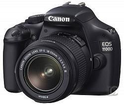 Cámara digital Reflex Canon EOS 1100D
