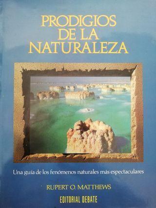 Libro Prodigios de la Naturaleza. Editorial Debate