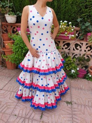 Vestido Sevillana Traje Flamenca