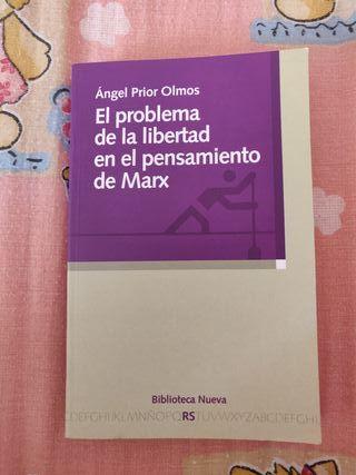 El problema de la libertad en el pensamiento Marx