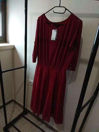 Vestido Burdeos