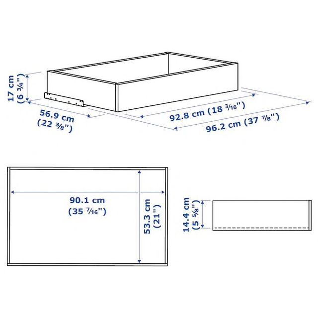 Armario blanco PAX IKEA