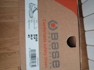 Zapatos de protección talla 41, marca Base