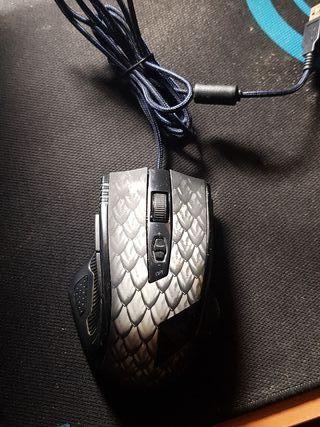 raton gaming drakonia black 8.2000 dpi