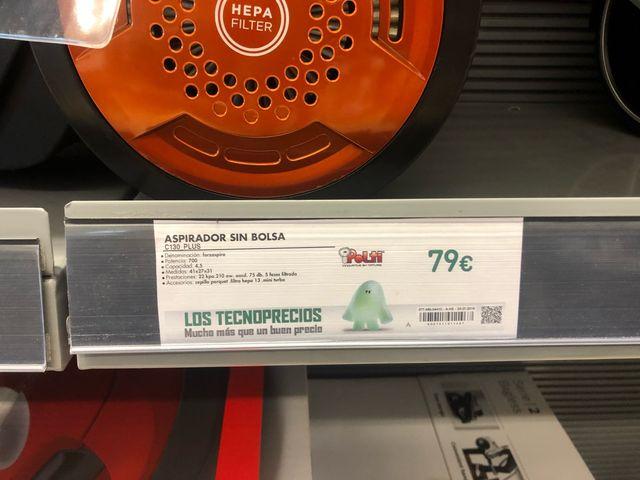 Aspiradora POLTI C130 PLUS