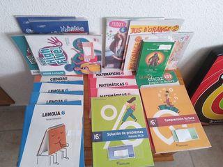 lote de libros sexto de primaria para GSD