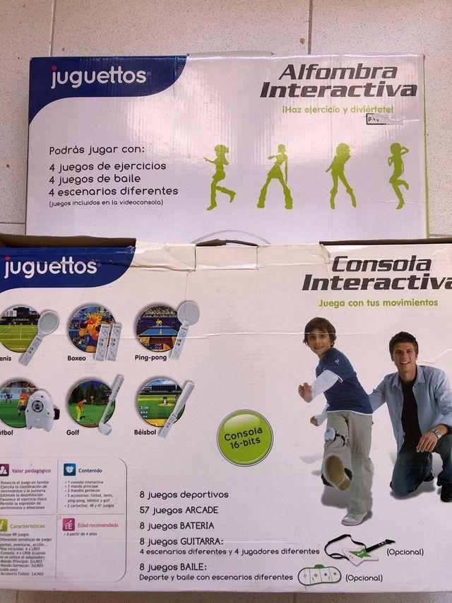 Consola y Alfombra interactiva