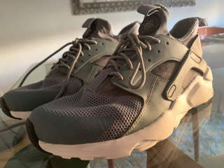 Zapatillas Huarache Nike Grises