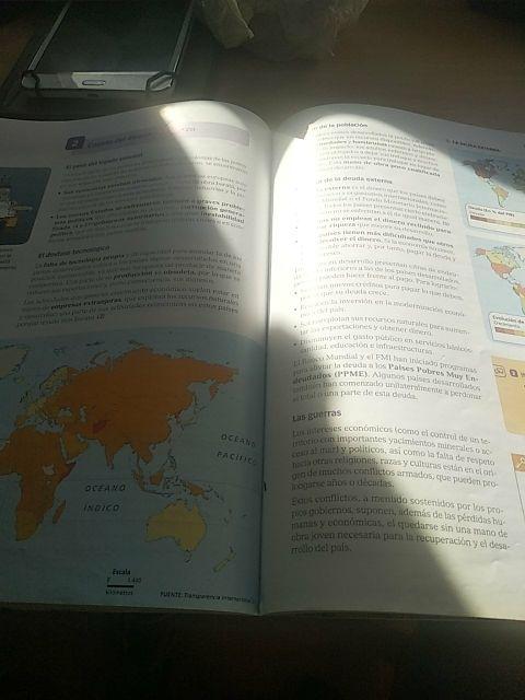 libro de geografía e historia 3 de eso