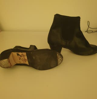 Botines de flamenco,zapatos