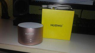 Nubwo bluetooth altavoces rosa