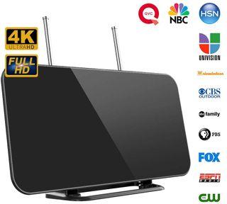Antena TV TDT Digital 4K Interior Sin Instalacion