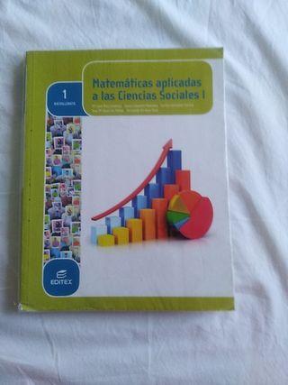 libro texto 1 bachillerato. Matemáticas