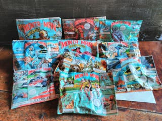 montaman ,sobres de montaplex 1975