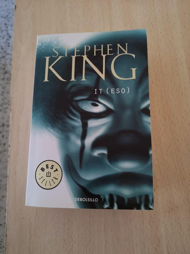 it eso Stephen King NOVELA terror edición bolsillo