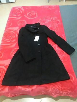 chaqueta larga zara