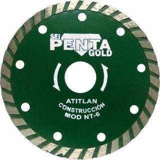 Disco amoladora Sei Pentagold MT-6 nuevo.