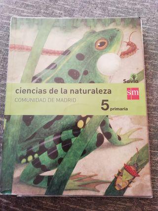 Libro de Ciencias de la Naturaleza, Savia SM