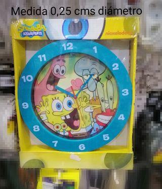 Reloj sin usar.