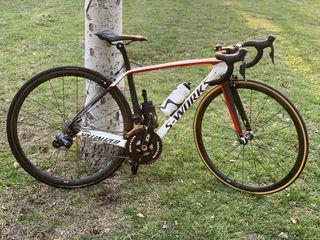 Bicicleta de carretera s-works talla 49