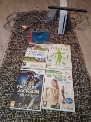 Wii 30€ Juegos 3€ (4 Juegos x 10€)
