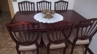 Mesa comedor con sillas de segunda mano en Rivas Vaciamadrid
