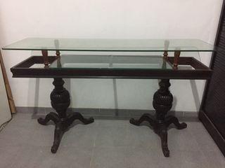 Mueble antiguo mostrador
