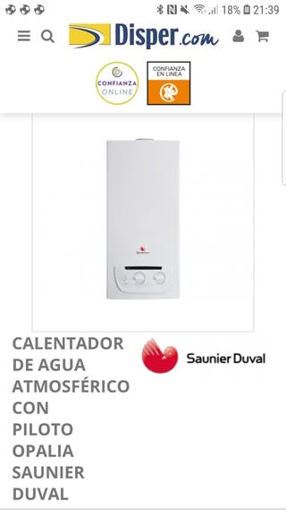 Calentador atmosferico Sauner Duval