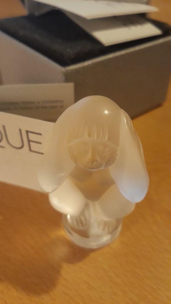 Monos de la sabiduría cristal claro Lalique