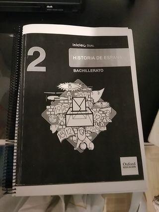 Libro 2 Bachillerato Oxford Historia de España