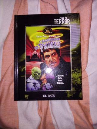 libro y película el abominable Dr phibes