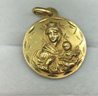 Medalla de oro de 18 kt