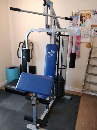 Máquina musculacion multiestacion marca top life