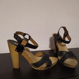 sandalias negra talla 37