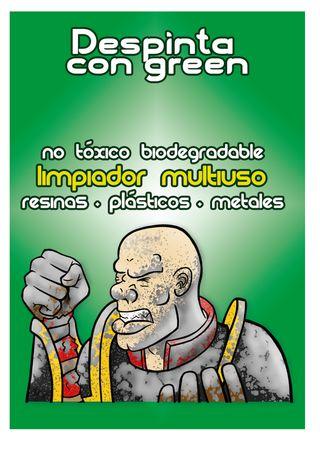 despinta con green