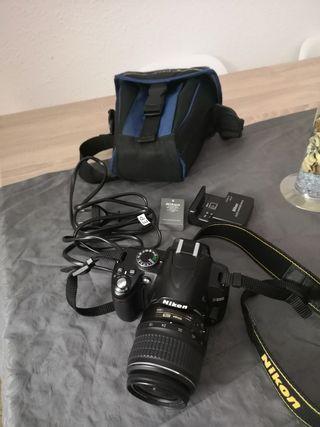cámara de fotos reflex nikon D-3000