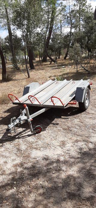 Remolque carga y motos 750 kgs