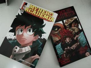My Hero Academia, manga (15/16)