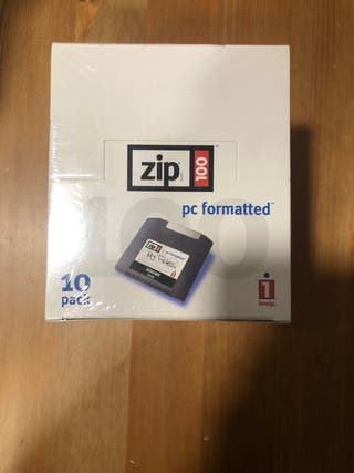 10 discos ZIP 100