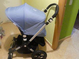 Carro, silla,Bebe Bugaboo Camaleon3 Ice Blue