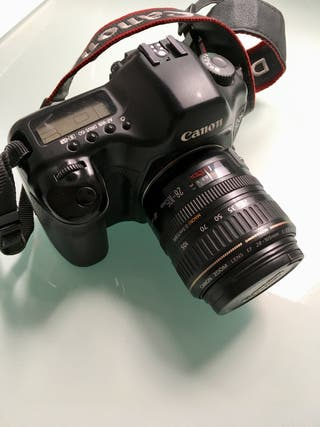 Canon 5D + objetivo zoom