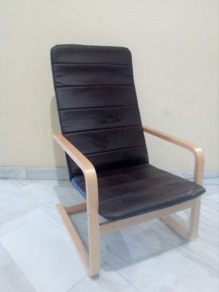sillón relax confortable Ikea PELLO