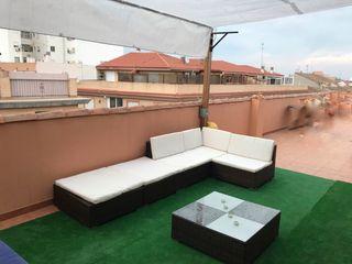 Sofá de terraza, chaise long, chillout ratan