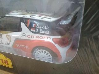 Citroen DS3 world rally car