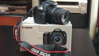 Canon 60D & Objetivo Sigma 18-200