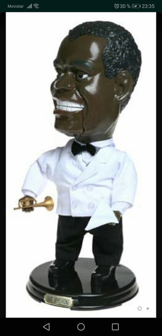 Muñeco Louis Armstrong