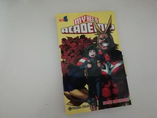 My Hero Academia, manga (1)