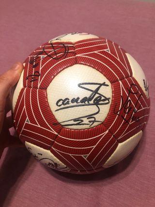 Balón OFICIAL firmado partido 2009/2010